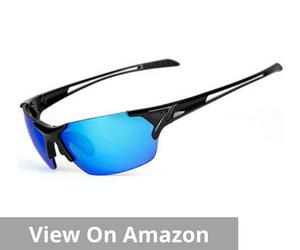 Shieldo Polarized Sports Sunglasses For Men And Women Fishing