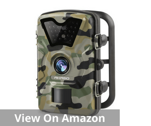 AKASO 12MP Trail Camera Night Vision 1080P Hunting Camera
