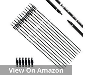 Tiger Archery 30Inch Carbon Arrow Practice Hunting Arrows