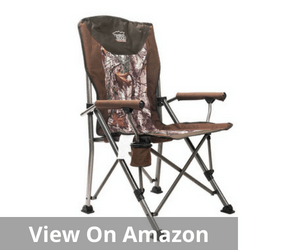 Timber Ridge Folding Quad Padded Chair