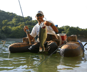 fishing float tube