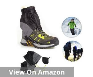 AKEfit Outdoor Waterproof Snow Leg Gaiters Hiking