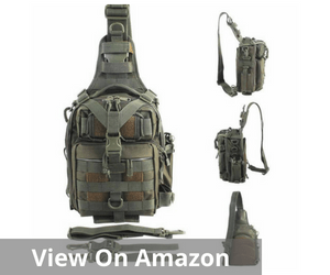 BLISSWILL Outdoor Multifunctional Tackle Bag Water-Resistant Fishing Tackle Backpack