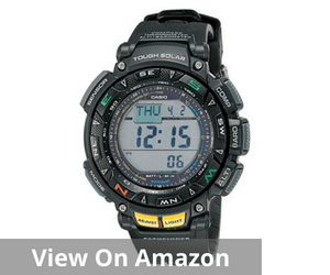 Casio Men's Pathfinder Triple Sensor Multi-Function Hiking Watch