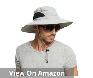 EINSKEY Men's Wide Brim Sun Hat
