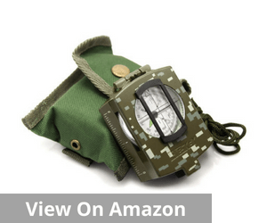 Eyeskey Waterproof Multifunctional Military Lensatic Compass
