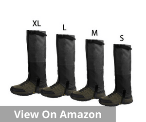 Leg Gaiters Waterproof Snow Boot Gaiters
