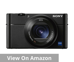 Sony Cyber-shot DSC-RX100 V 20.1 MP Digital Backpacking Camera