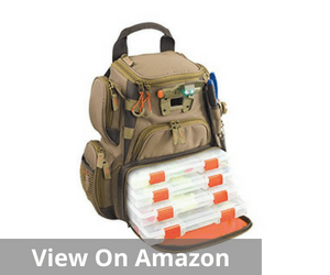 Tackle Tek Recon Lighted Compact Tackle Backpack