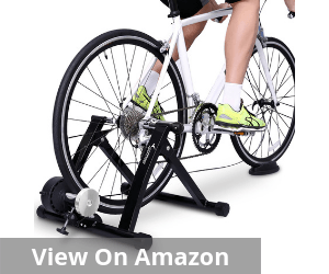 Bike Trainer Stand - Sportneer Steel Bicycle Exercise Magnetic Stand