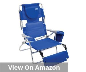 Rio Beach Face Opening Sunbed High Seat Beach Chair