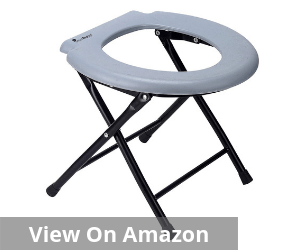 Comfort Chair Portable Toilet Seat for Camping