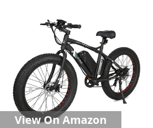 Fat Bike Tire Wheel Men Electric Bicycle
