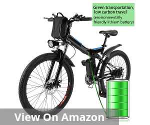 Kemanner 26 inch Electric Mountain Bike