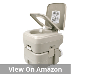Outdoor T-Type Three Directional Flush Portable Travel Toilet