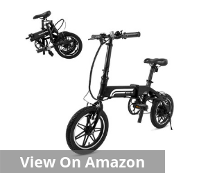 SwagCycle EB-5 Lightweight and Aluminum Folding EBike