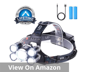 Headlamp 12000 Lumen Ultra Bright