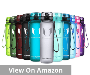 Super Sparrow Sports Water Bottle