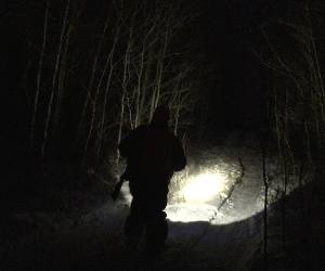 hunting headlamp