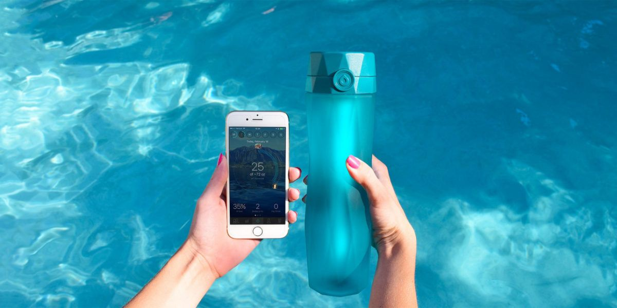 smart water bottle
