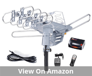 McDuory Amplified Digital Outdoor HDTV Antenna