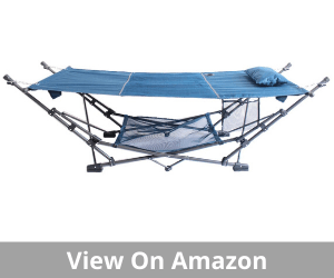 ZENITHEN LIMITED Guidesman Portable Blue Folding Hammock