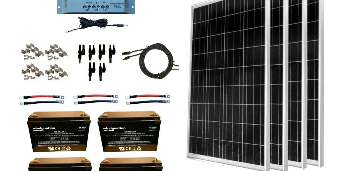 WindyNation 400 Watt Solar Kit with AGM Review