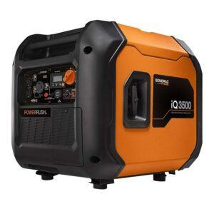 Generac iQ3500 Portable Inverter Top Generator for Camping and RVing